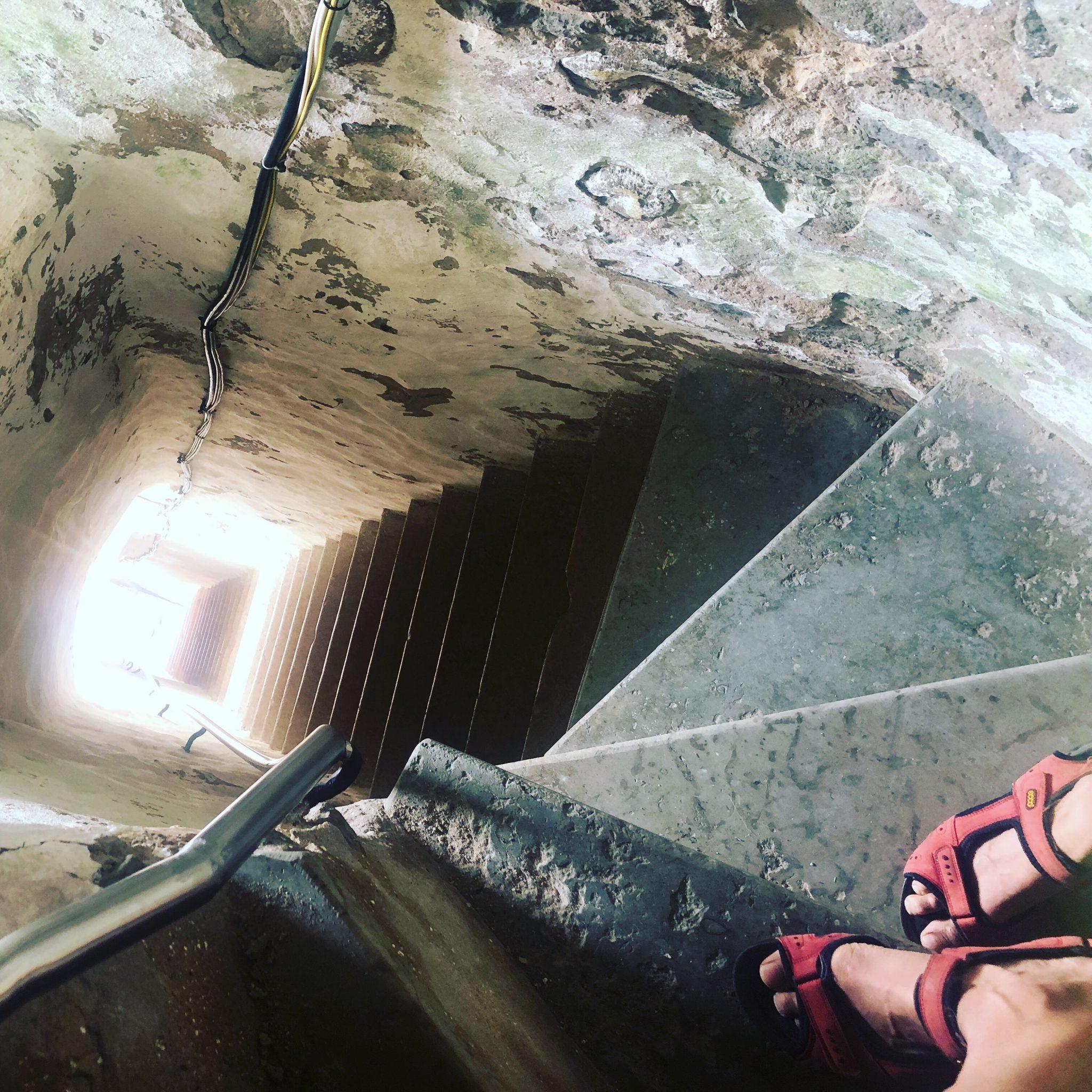 Treppe zum Leuchttum Kopu Tuletorn