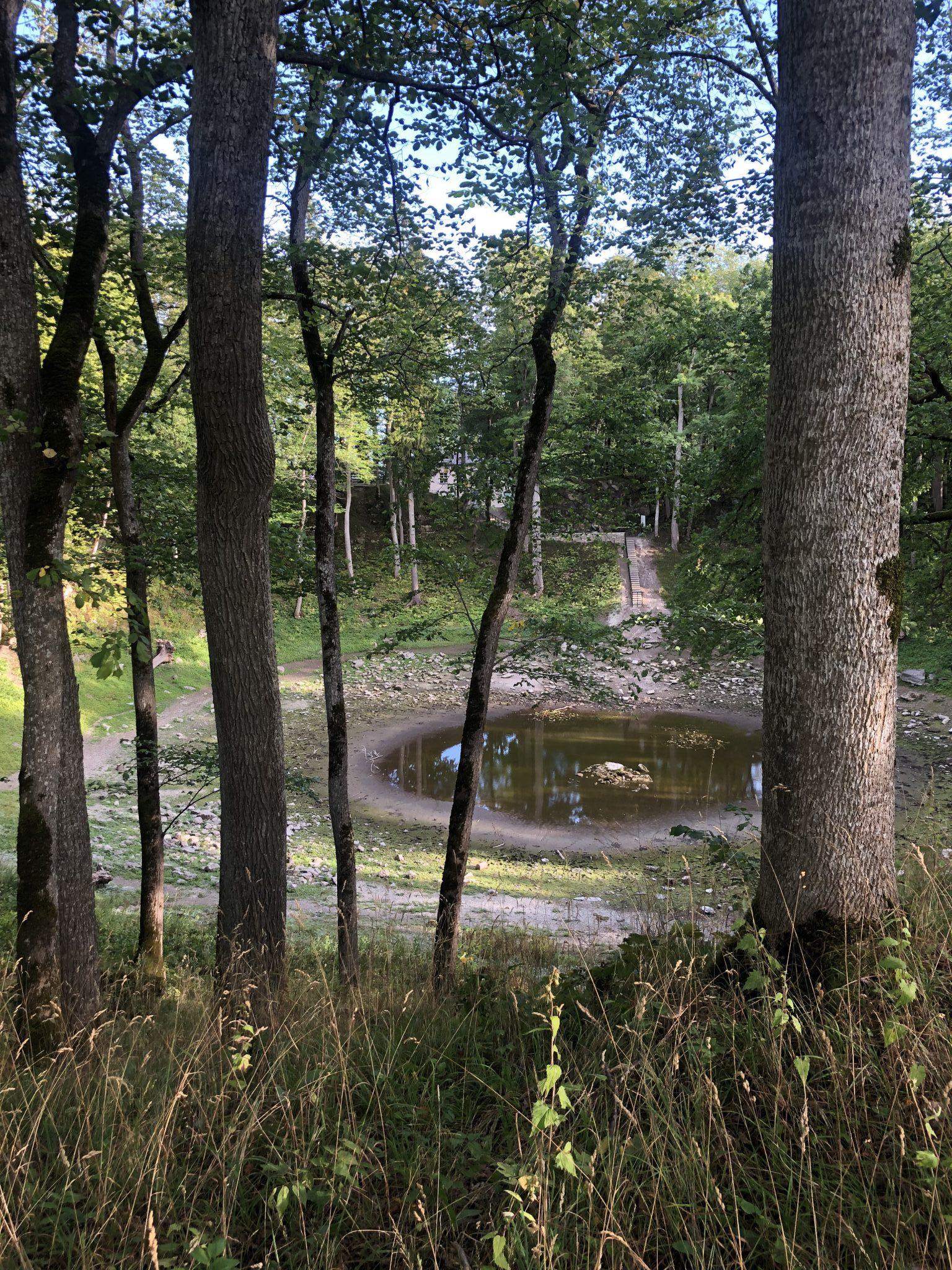 Krater des Meteroriteneinschlages auf Saaremaa