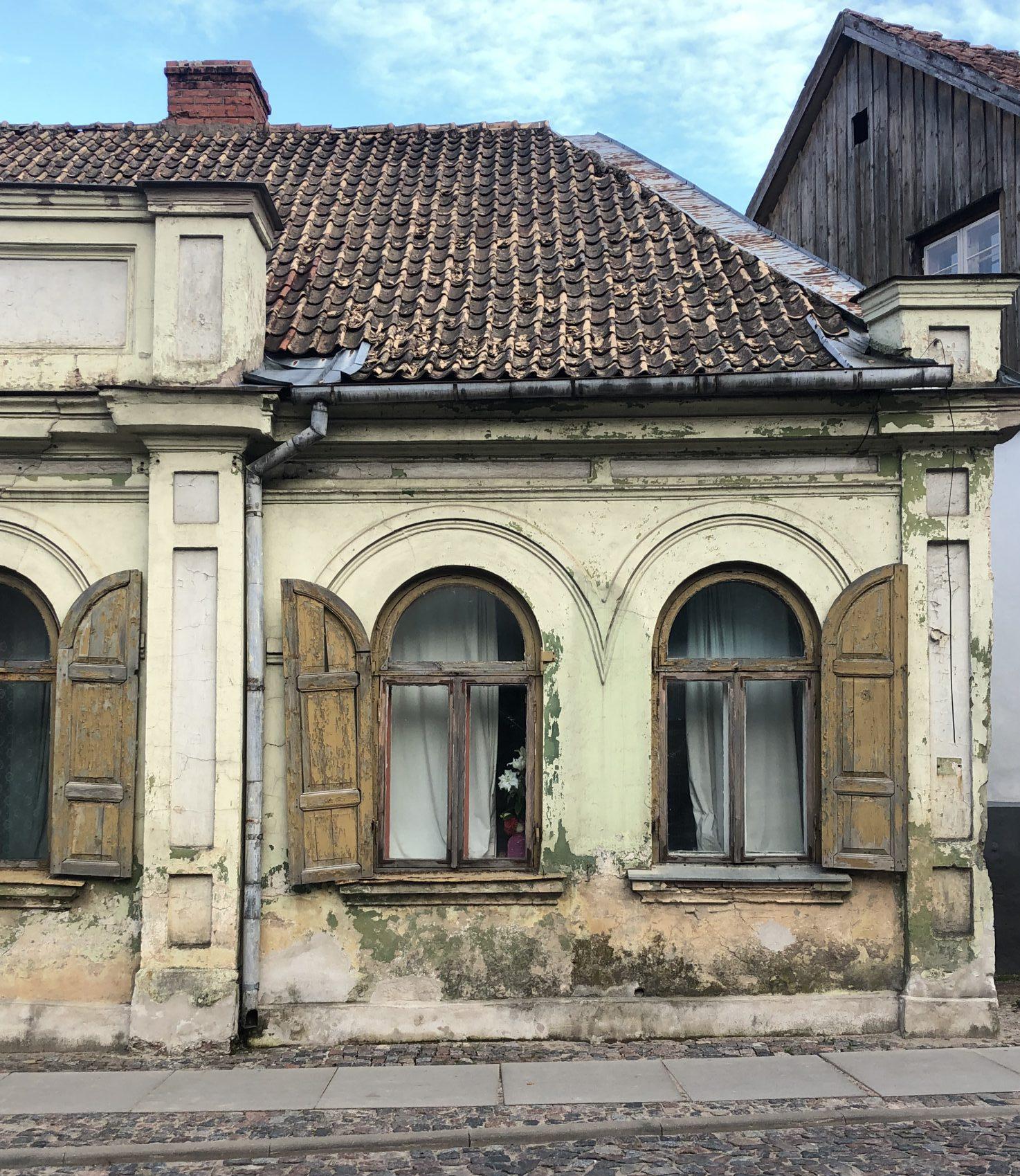 Historische Wohnhaus in Kuldīga