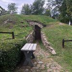 Kartoffel Lager in einem Bunker oder einer Hobbithöhle?