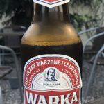 Warka Bier Piwo ist polnisches Bier