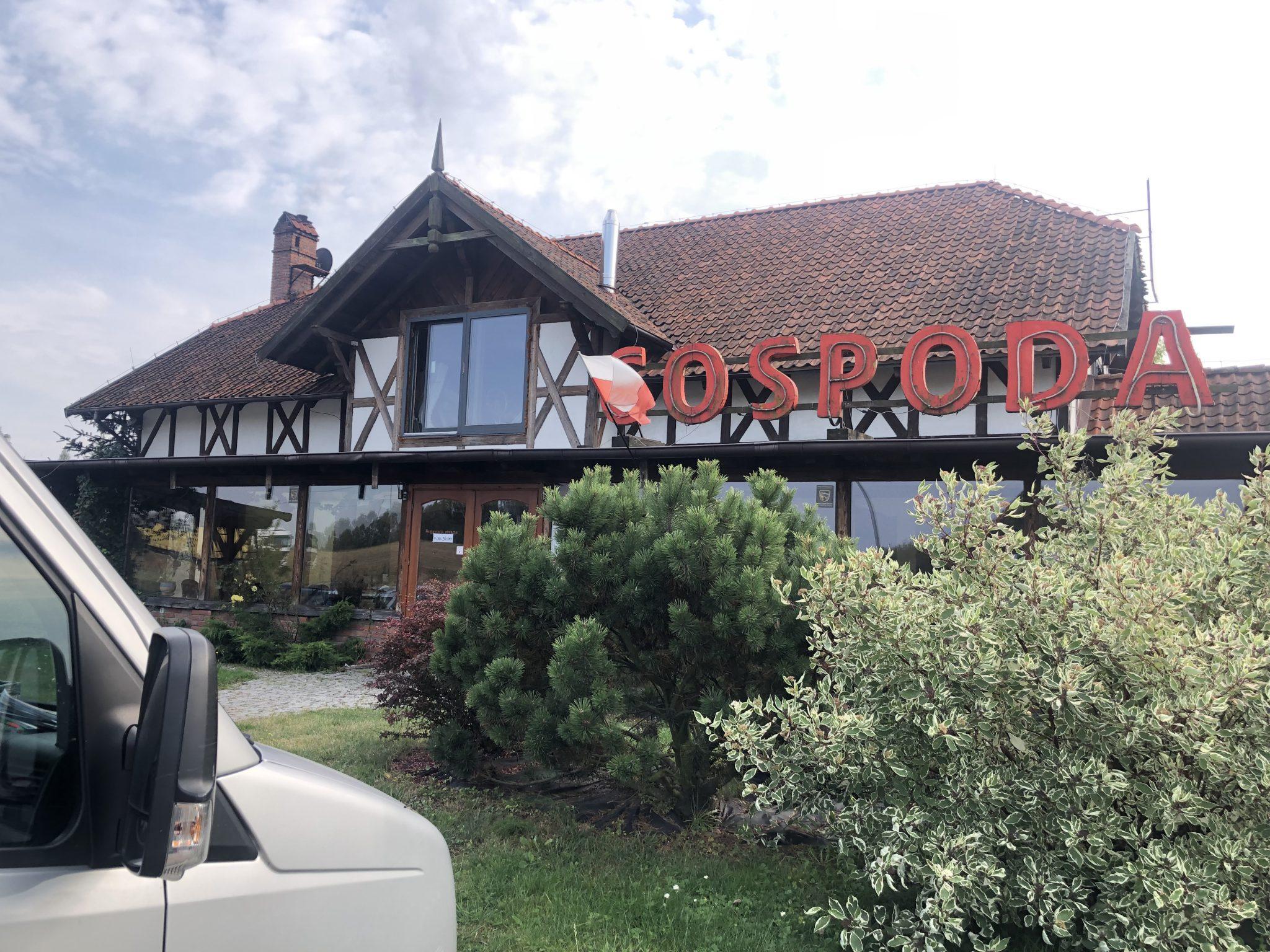Das Restaurant Gospoda in Polen