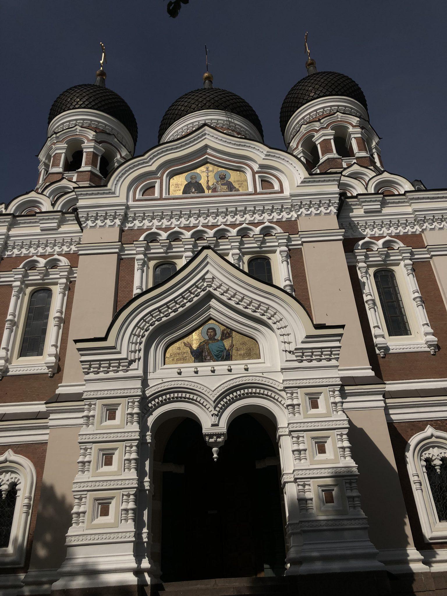 Die Alexander-Newski-Kathedrale - eine Landmarke der estnischen Hauptstadt Tallinn und befindet sich auf dem Domberg