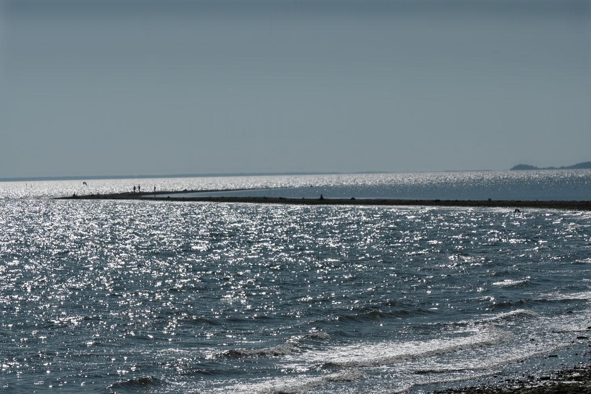 Endloses Meer auf Hiiumaa in Estland