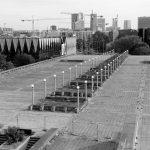 Der riesige Platz vor der einstigen Stadthalle Linnahall