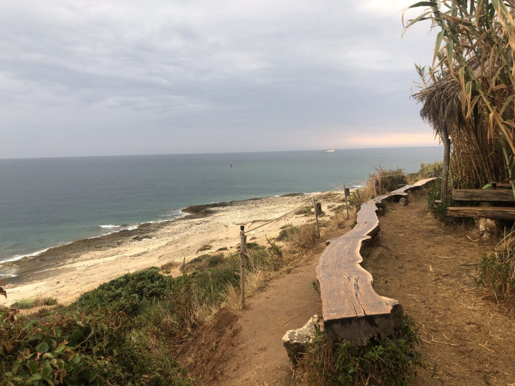 Blick über den Strand auf Kamenjak in der Region Istrien